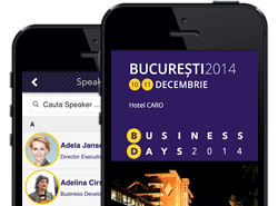 The first Business Events Organizer Mobile App in Romania