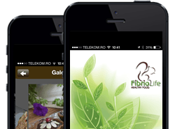 Healthy Food Restaurant Mobile App in Romania