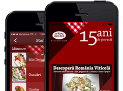 The first Restaurant Mobile App in Romania
